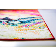 Multicolored Rug Colorful Area Rugs Surya Psv46 Perspective Neutral Runner Area Rug