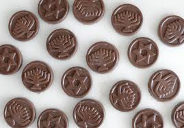 chanukah chocolate gelt easy hanukkah gelt recipe elana s pantry