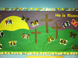 Religious Easter Classroom Decorations by The 25 Best Easter Bulletin Boards Ideas On Pinterest Easter