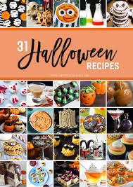 halloween cookbook 31 halloween recipes the speckled palate