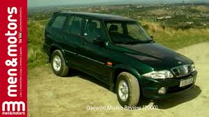 ssangyong korando 1999 daewoo musso review 2000 youtube