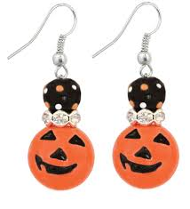 halloween glass kate and macy handpainted halloween glass bracelets and earrings