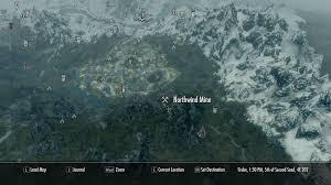 Map Of Nirn Image Northwind Mine Map Jpg Elder Scrolls Fandom Powered By