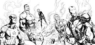 100 ideas marvel coloring page on freenewyear2018 download