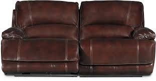 burgundy 3 piece leather match manual reclining console loveseat