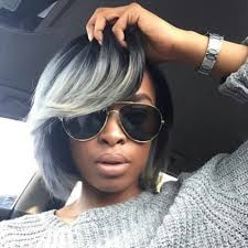 sew in bob hairstyles for black women gray bob hurrrrr pinterest bobs gray hair and hair style