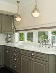 Kitchen Cabinets Lights Brown Painted Kitchen Cabinets U0026 Silver Hardware Looks Like Our