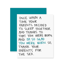 thanksgiving for birthday greetings thank your parents birthday funny greeting card happy