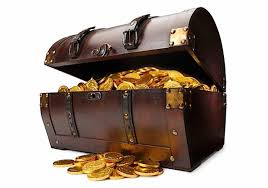 treasure chest treasure chest but instead of gold coins you will