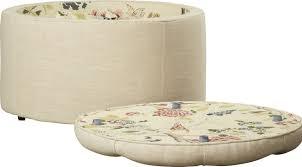 ottomans designs4comfort round shoe ottoman walmart ottoman diy