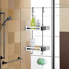 Hanging Baskets For Bathroom Storage Sanliv Door Shelf Hanging Shower Caddy Baskets Hotel