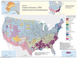 map of us states based on population american ethnicity map shows melting pot of ethnicities that make
