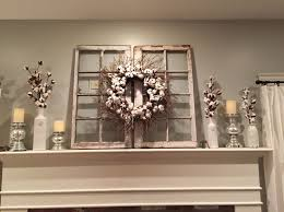 indoor wreaths home decorating decorative ledge still need to paint one of the windows but finally
