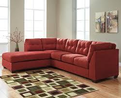 benchcraft maier sienna 2 piece sectional w sleeper sofa u0026 left