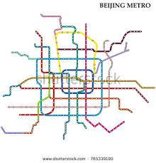 map underground map beijing metro subway template city stock vector 765339190