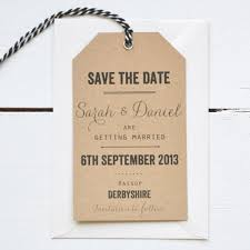 luggage tag save the date vintage save the date luggage tags says i do