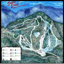 Utah Ski Resort Map by Middlebury College Snow Bowl Trail Map Liftopia