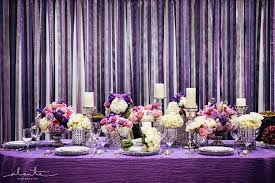 Purple And Silver Wedding The Bridal Notebook Purple Wedding Reception