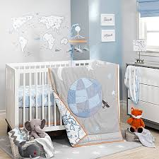 Cloud Crib Bedding Lambs Silver Cloud Crib Bedding Collection Bed Bath Beyond