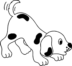 crying puppy playful cartoon puppy dog coloring page wecoloringpage