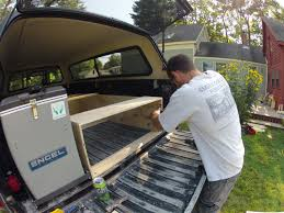 building a tent platform truck build phase 2 sleeping and storage