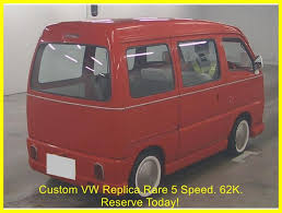 subaru sambar van used 1996 subaru sambar suzuki every vw camper replica for sale