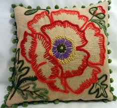 2277 best cojines images on cushions embroidery and