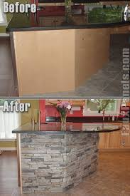 Small Kitchen Designs With Island by 25 Best Kitchen Island Makeover Ideas On Pinterest Peninsula