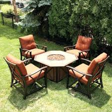 Fire Patio Table by Outdoor Patio Table With Propane Fire Pit U2013 Smashingplates Us