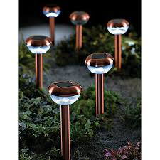 copper solar lights outdoor benefits and also disadvantages of solar landscape lighting