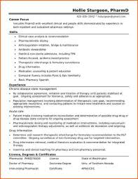 Resume For Pharmacist Job Best Resume Format Sample For Pharmacist Job Featuring Skills And