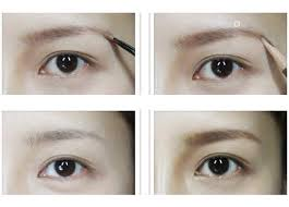 tutorial alis mata untuk wajah bulat tips makeup mata korea fatare blog