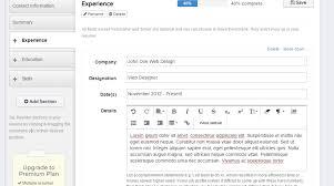Best Free Resume Bu by Resume Famous Best Resume Builder App Fabulous Best Resume