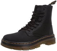 combat boots black friday amazon com dr martens men u0027s combs nylon combat boot