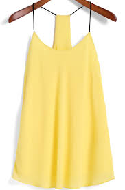 best 25 yellow cami tops ideas on pinterest diy clothes