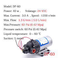 high suction lift water pump dc high pressure water pump promotion shop for promotional dc high