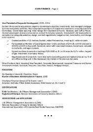 Resume Examples Finance by Insurance Executive Resume Example