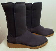 womens ugg boots navy ugg boots amie slim wedge navy blue s size 8 ebay
