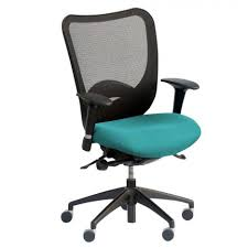Comfortable Computer Chair by Perfect Navy Blue Padded Chair Combine Mesh Component For Back In