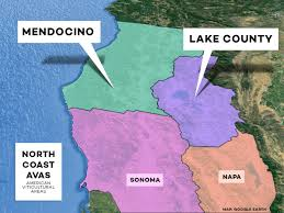 California Wine Country Map Beyond Napa The Lesser Known North Coast Wine Regions