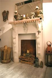Shabby Chic Fireplace Mantels by 25 Best Fake Fireplace Images On Pinterest Fireplace
