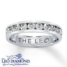 kay jewelers credit card kay leo anniversary ring 5 8 ct tw diamonds 14k white gold