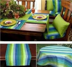 table runner or placemats sunbrella outdoor tablecloth tablerunner or placemats seville