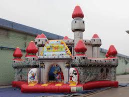disney castle qiqi toys inflatables