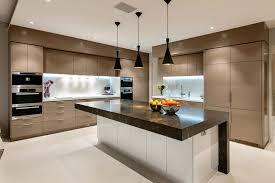Kitchen Beautiful Modern Kitchen Interior Design Dark Brown - Modern kitchen interior design