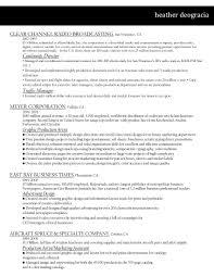 Copywriting Resume Resume U2013 Heather Deogracia