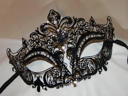 metal masquerade mask rhinestone metallic masquerade mask