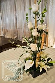 centerpiece for dinner table utah wedding event dinner table centerpiece white and green