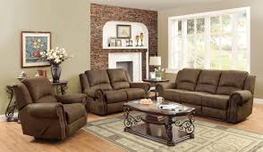 coaster sir rawlinson coated microfiber motion living room set in