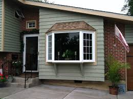 home exterior design types decor tips fresh bay window treatment with wood siding types and